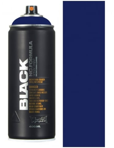 Montana Black Power Violet Spray Paint - 400ml