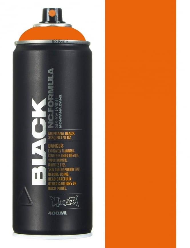 Montana Black Pure Orange Spray Paint - 400ml
