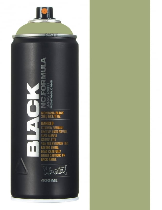 Montana Black Reseda Spray Paint - 400ml