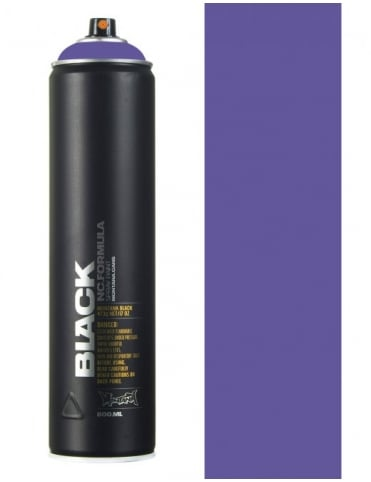 Montana Black Royal Purple Spray Paint - 600ml