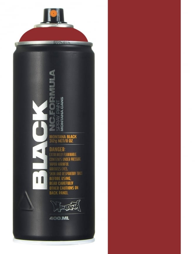 Montana Black Rust Spraypaint - 400ml