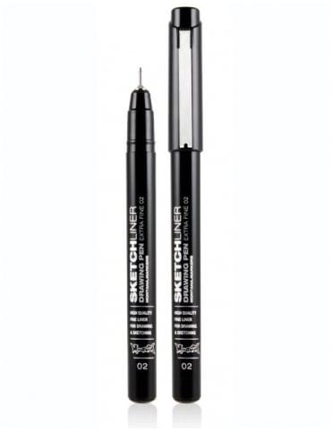 Montana Black Sketchliner Pen - Size 0.2mm