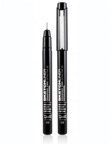 Montana Black Sketchliner Pen - Size 0.3mm