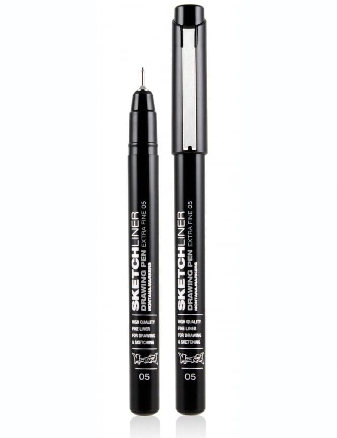 Montana Black Sketchliner Pen - Size 0.5mm