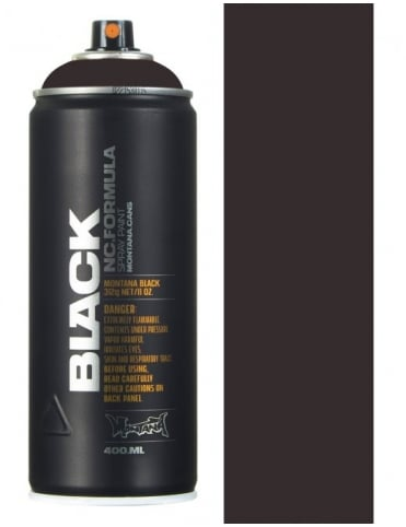 Montana Black Slate Spray Paint - 400ml