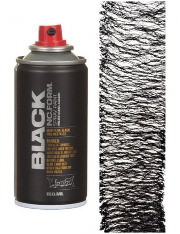 Montana Black Spider Effect Spray Paint - Silverchrome