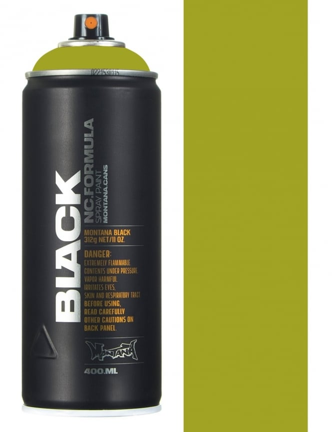 Montana Black Spring Spray Paint - 400ml
