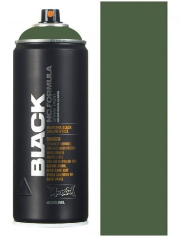 Montana Black Storm Spray Paint - 400ml