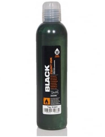 Montana Black TAG Green - 200ml Paint Refill