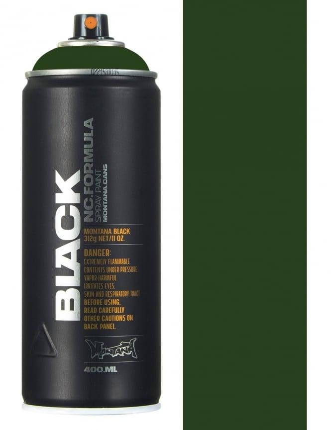 Montana Black Toad Spray Paint - 400ml
