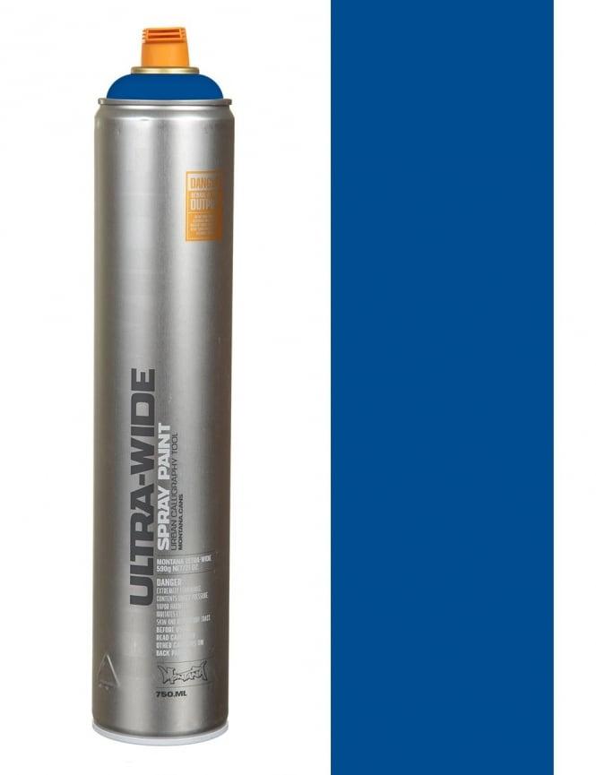 Montana Black Ultra Wide Spray Paint - Blue