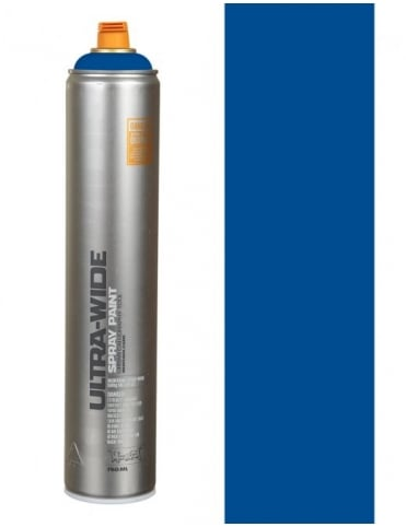 Montana Black Ultra Wide Spray Paint - Blue