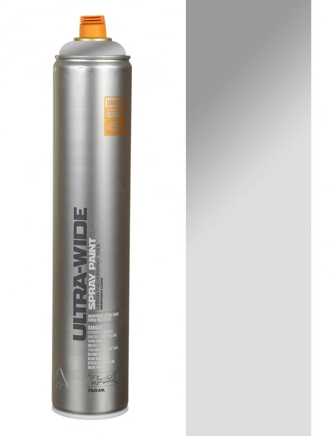 Montana Black Ultra Wide Spray Paint - Chrome