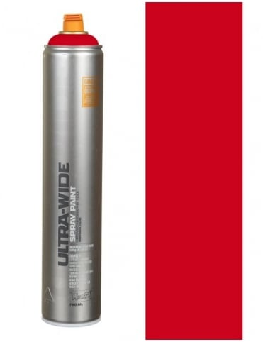 Ultra Wide Spray Paint - Red