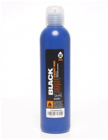 Montana Black Ultramarine - 200ml Paint Refill