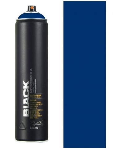 Montana Black Ultramarine Spray Paint - 600ml