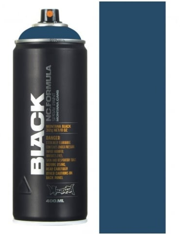 Montana Black Whale Spray Paint - 400ml