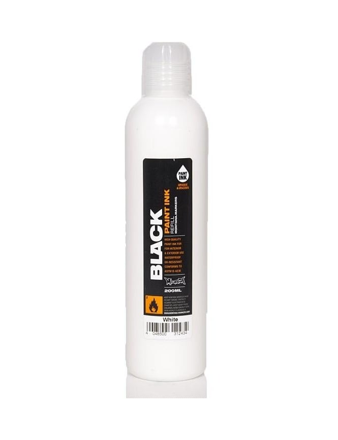 Montana Black White - 200ml Paint Refill