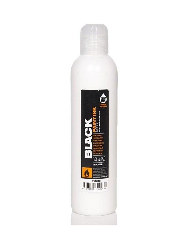 Montana Black White - 200ml Paint Refill