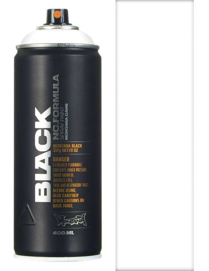 Montana Black White Spray Paint - 400ml