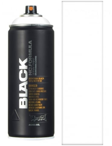 Montana Black White Spray Paint - 400ml