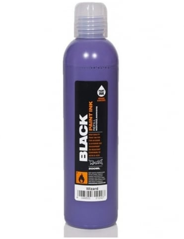 Montana Black Wizard - 200ml Paint Refill
