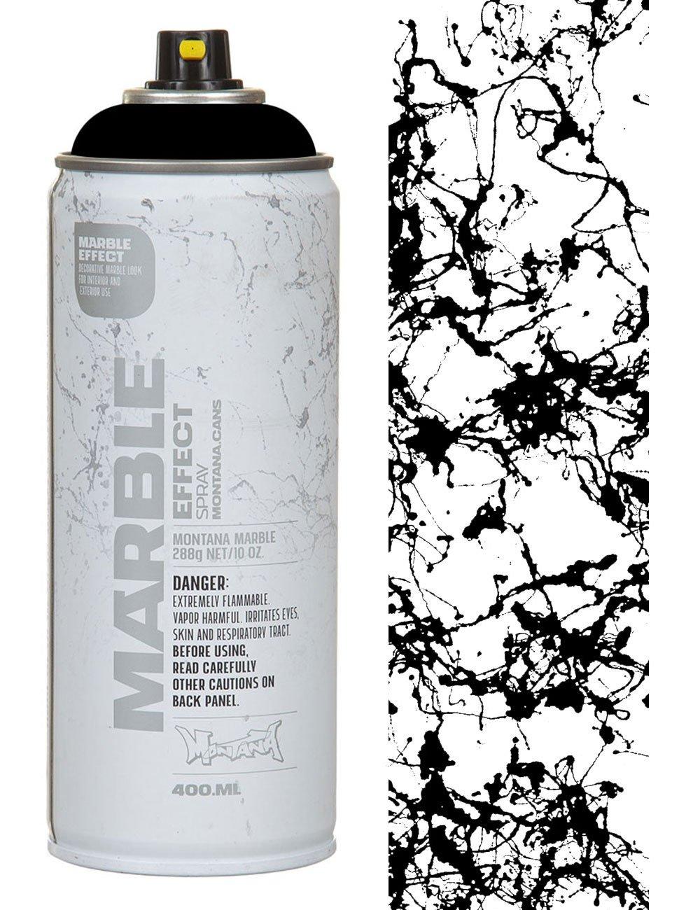 Montana Em9000 Black Marble Effect Spray Paint 400ml Spray Paint Supplies From Fat Buddha Store Uk
