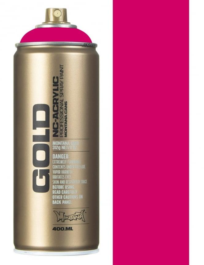Montana Gold 100% Magenta Spray Paint - 400ml