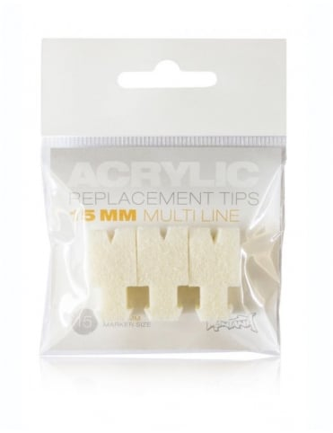 Montana Gold 15mm Multiliner Replacement Tips