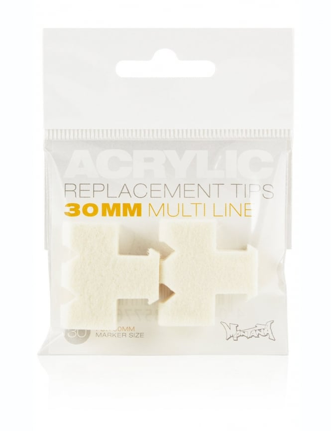 Montana Gold 30mm Multiliner Replacement Tips