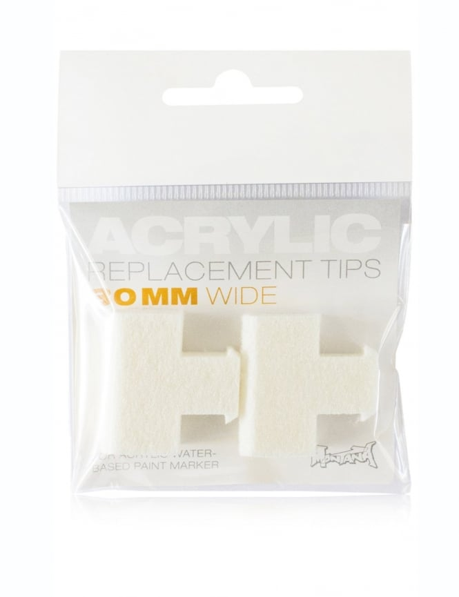 Montana Gold 30mm Replacement Acrylic Marker Tips