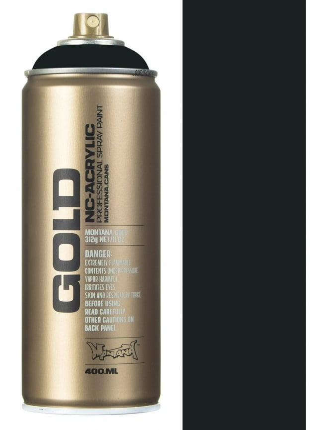 Montana Gold Anthracite Spray Paint - 400ml