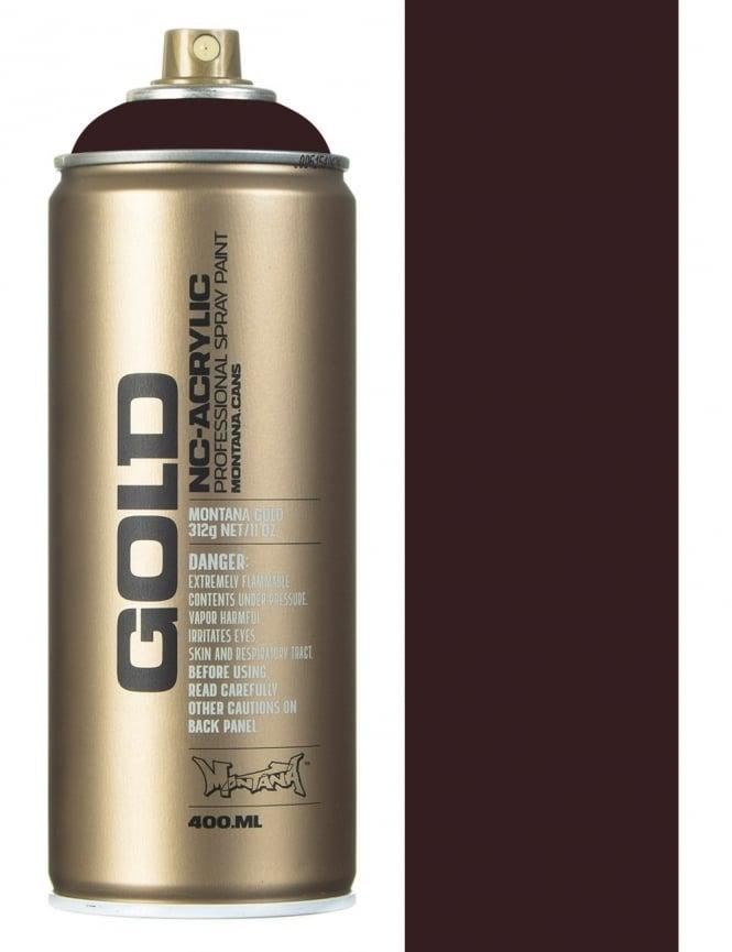 Montana Gold Aubergine Spray Paint - 400ml