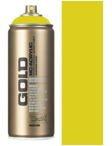 Montana Gold Banana Joe Spray Paint - 400ml