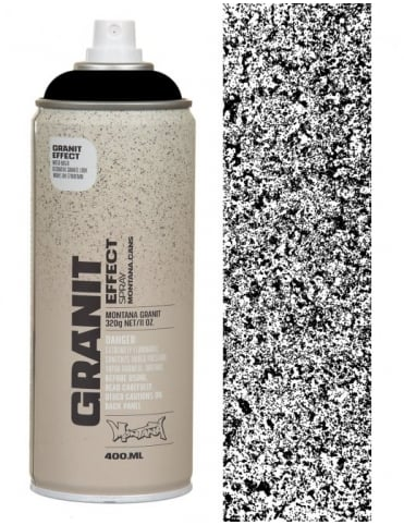 Montana Gold Black Granite Effect Spray Paint - 400ml