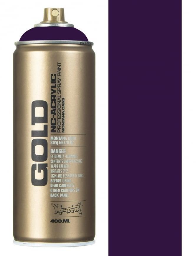 Montana Gold Black Purple Spray Paint - 400ml