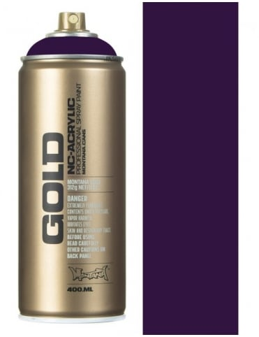 Black Purple Spray Paint - 400ml