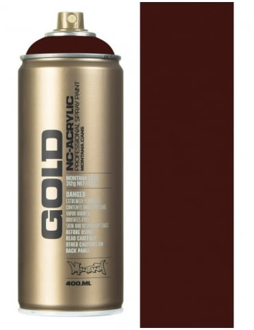 Montana Gold Black Red Spray Paint - 400ml