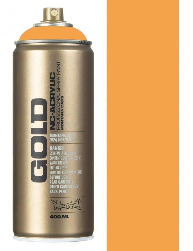 Montana Gold Blast Orange Spray Paint - 400ml