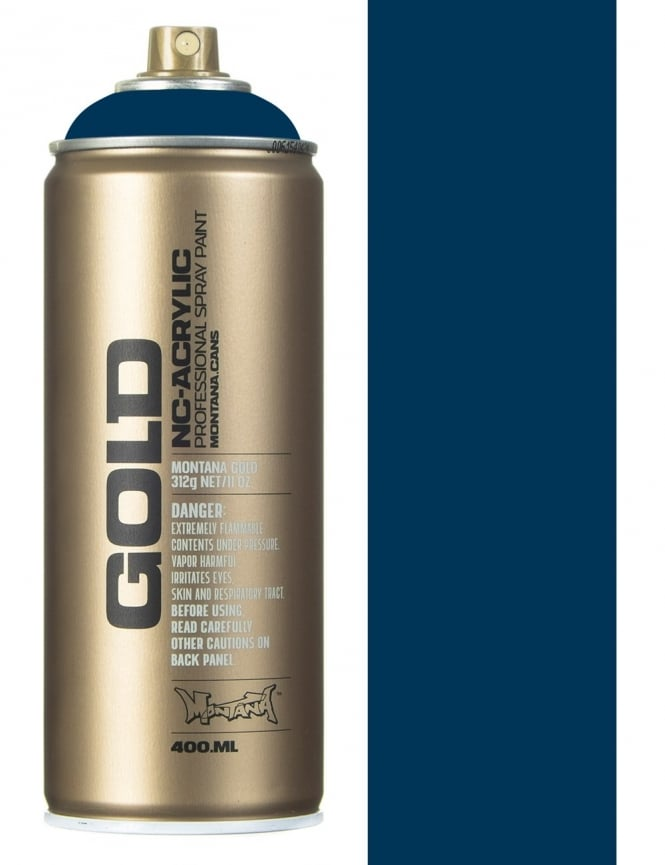 Montana Gold Blue Note Spray Paint - 400ml