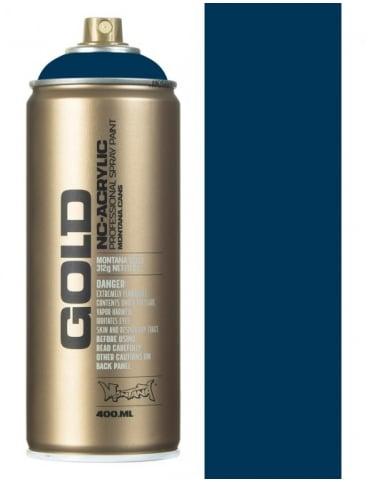 Montana Gold Blue Note Spray Paint - 400ml