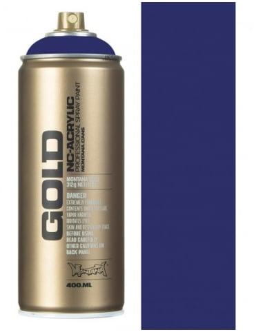 Montana Gold Blue Velvet Spray Paint - 400ml