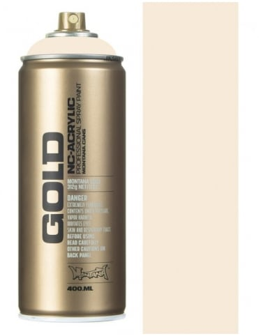 Montana Gold Bone Spray Paint - 400ml