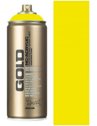 Montana Gold Brimstone Spray Paint - 400ml