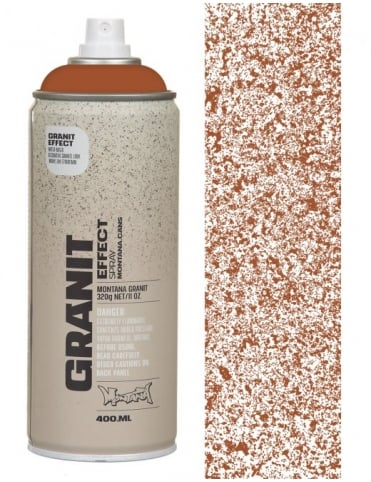 Montana Gold Brown Granite Effect Spray Paint - 400ml