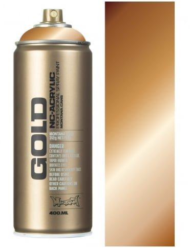 Montana Gold Copper Chrome Spray Paint - 400ml
