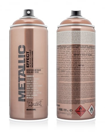 Copper Metallic Effect Spray Paint - 400ml