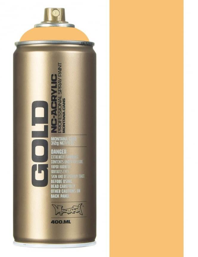 Montana Gold Creme Orange Spray Paint - 400ml