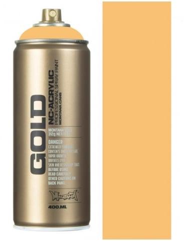 Montana Gold Creme Orange Spray Paint - 400ml