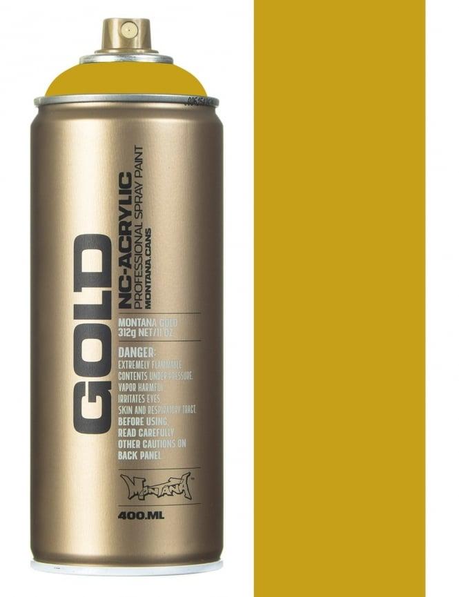 Montana Gold Curry Spray Paint - 400ml